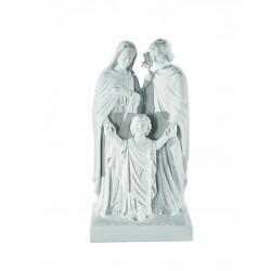 HOLY FAMILY STATUE 50CM