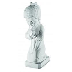 LITTLE GIRL PRAYING STATUE 33.5CM