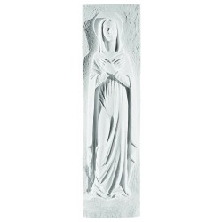 HEART OF MARY PLAQUE 55CM