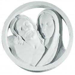 MARY AND JESUS PLAQUE 34CM