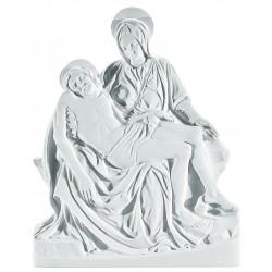 MARY AND JESUS PLAQUE 36CM