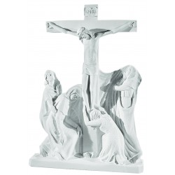 JESUS ON CROSS PLAQUE 67CM