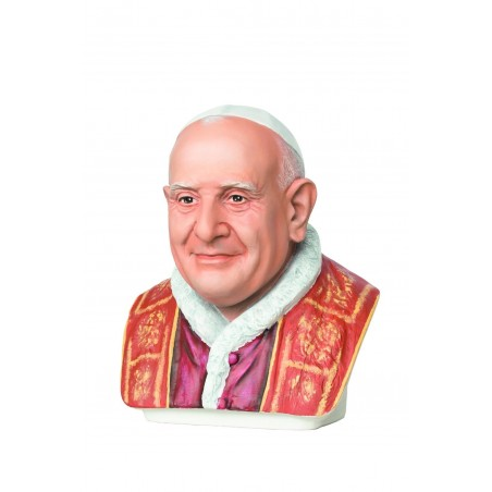 POPE FRANCIS BUST 43CM