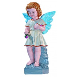 Angel Marble Statue Hand Painted