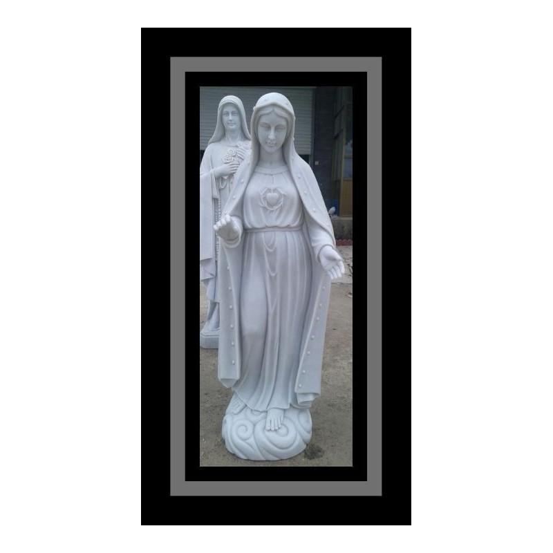 Custom Marble Lady of Fatima Marble Statue