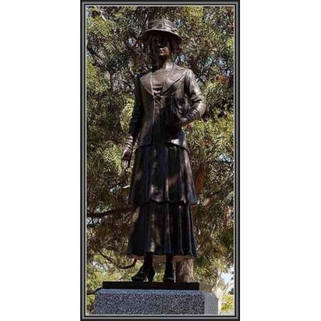 Custom Bronze World War One Woman