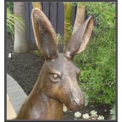 Custom Bronze Kangaroo and Joey