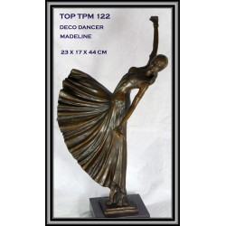 ART DECO DANCER STATUE