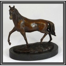 HORSE STANDING STATUE