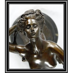 ART DECO NUDE WITH GARLAND