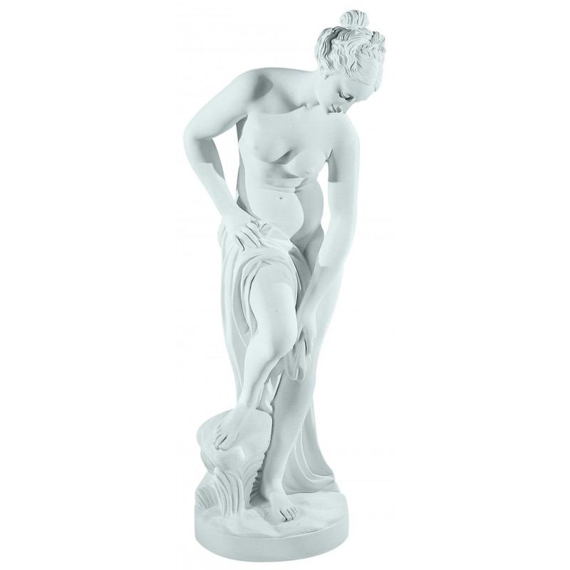 THE BATHER MARBLE STATUE