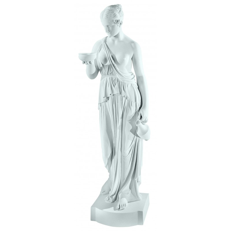 CLASSIC LADY WITH JUG MARBLE STATUE