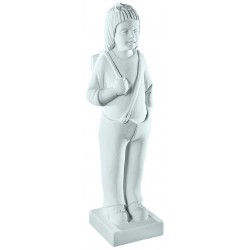 YOUNG BOY MARBLE STATUE