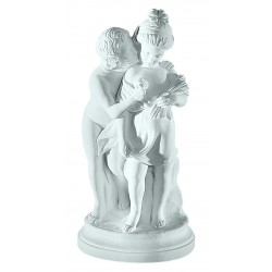 STOLEN KISS MARBLE STATUE