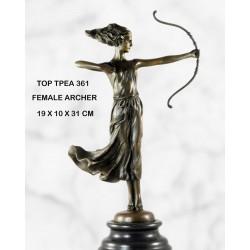 Female Archer statue