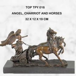 Roman Chariot statue