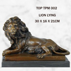 Lion Lying statue