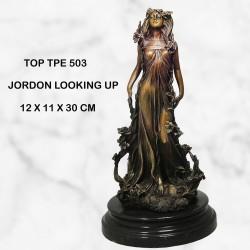 Mystical female statue