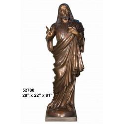 JESUS LIFESIZE STATUE BRONZE