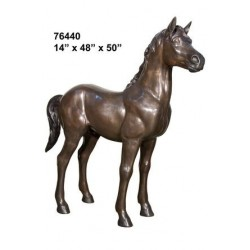 PONY SMALL HORSE STATUE