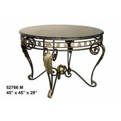 TABLE ROUND BRONZE MODERN DESIGN