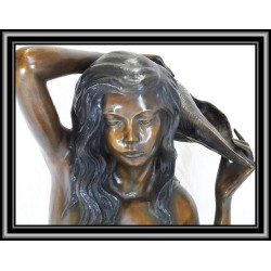 Mermaid Water Feature Bronze two tone patina
