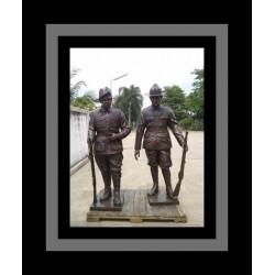 Custom Bronze Anzac Soldier