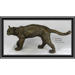 CAT WALKING STATUE