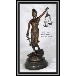 SCALES OF JUSTICE STATUE