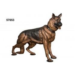 GERMAN SHEPHARD ALSATIAN DOG STATUE LIFESIZE