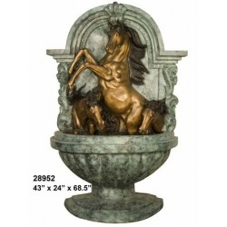 HORSE WATER FEATURE FOR WALL
