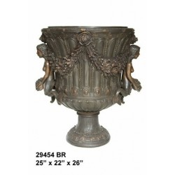 URN WITH MERMAIDS